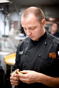 Chef Nate Whiting of Tristan