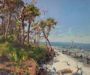 West Fraser | Hunting Island | Oil on linen | 20 x 24 inches