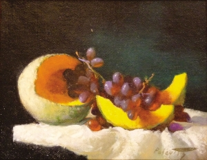 Robert Palevitz | Melon and Grapes II